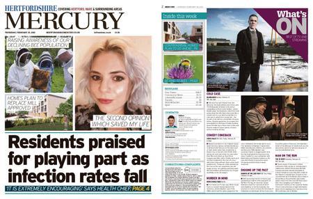 Hertfordshire Mercury – February 18, 2021