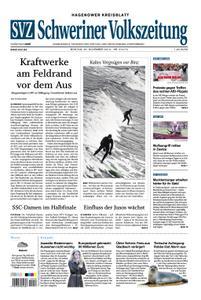 Schweriner Volkszeitung Hagenower Kreisblatt - 25. November 2019