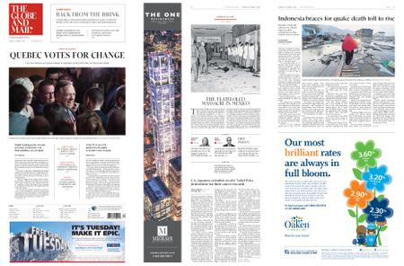 The Globe and Mail – October 02, 2018