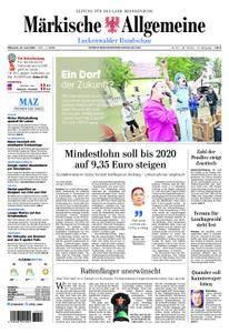 Märkische Allgemeine Luckenwalder Rundschau - 27. Juni 2018