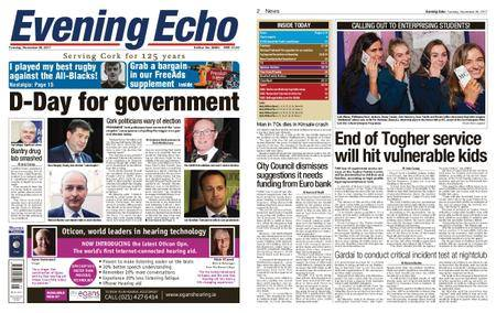 Evening Echo – November 28, 2017