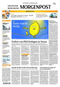 Solinger Morgenpost – 13. Februar 2019