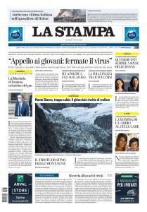 La Stampa Torino Provincia e Canavese - 7 Agosto 2020