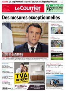 Le Courrier de l'Ouest Cholet – 13 mars 2020