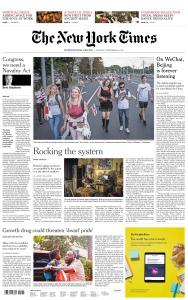 International New York Times - 8 September 2020
