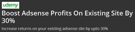 Boost Adsense Profits On Existing Site By 30%