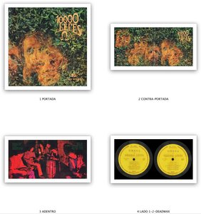 Omega - 10000 Lépés (1969) Qualiton/LPX 17400 - 1st HU Mono Pressing - LP/FLAC In 24bit/96kHz & 16bit/44kHz