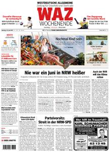 WAZ Westdeutsche Allgemeine Zeitung Oberhausen-Sterkrade - 29. Juni 2019