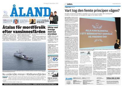 Ålandstidningen – 18 december 2019