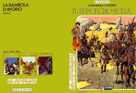 Le Avventure della Storia - Volume 66 - La Bambola D'Avorio 4 - Il Sepolcro Scita