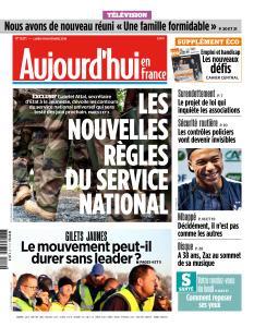 Aujourd'hui en France du Lundi 19 Novembre 2018