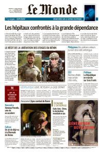 Le Monde du Dimanche 12 et Lundi 13 Mai 2019