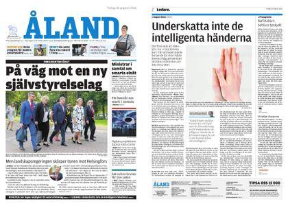 Ålandstidningen – 28 augusti 2018