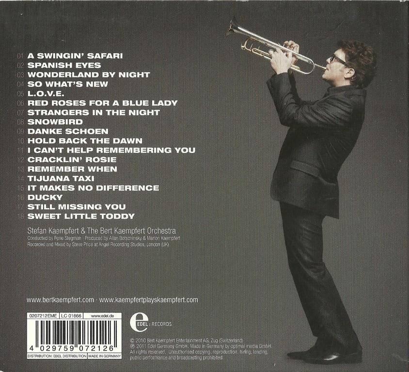 Stefan Kaempfert & The Bert Kaempfert Orchestra - Kaempfert Plays