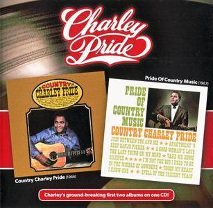 Charley Pride - Country Charley Pride (1966) + Pride Of Country Music (1967) {2013 Music City Records Remaster}