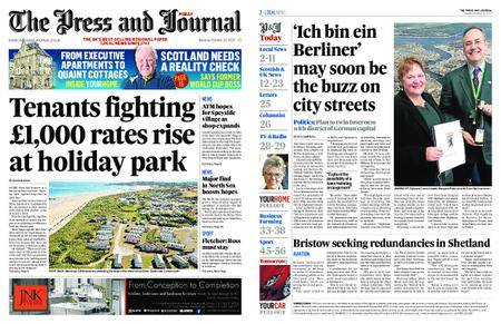 The Press and Journal Moray – October 10, 2017