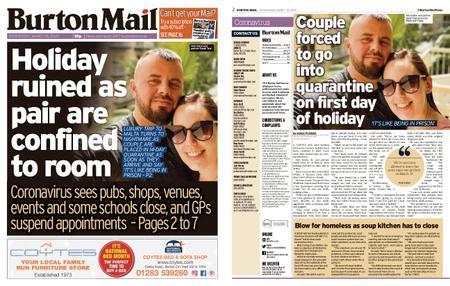 Burton Mail – March 18, 2020