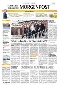 Solinger Morgenpost – 22. Oktober 2019