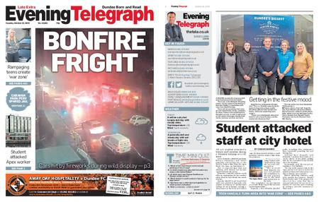 Evening Telegraph First Edition – October 22, 2019