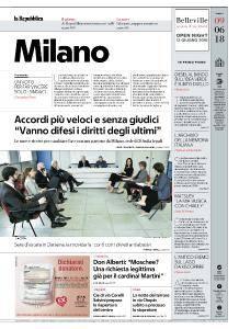 la Repubblica Milano - 9 Giugno 2018