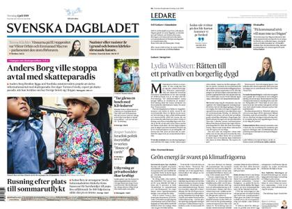Svenska Dagbladet – 04 juli 2019