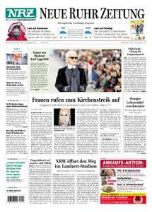 NRZ Neue Ruhr Zeitung Essen-Postausgabe - 20. Februar 2019