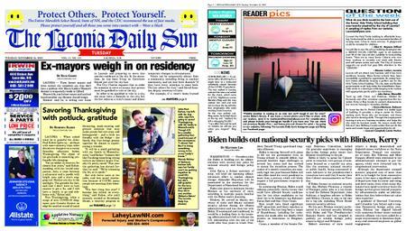 The Laconia Daily Sun – November 24, 2020