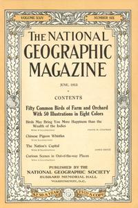 National geographic June 1913