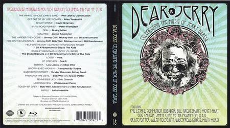 VA - Dear Jerry: Celebrating The Music of Jerry Garcia (2016)