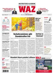 WAZ Westdeutsche Allgemeine Zeitung Oberhausen-Sterkrade - 13. Oktober 2017