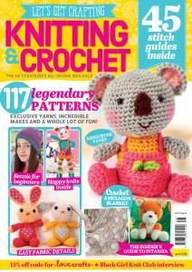 Let's Get Crafting Knitting & Crochet - Issue 128 - January 2021