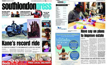 South London Press – August 22, 2017