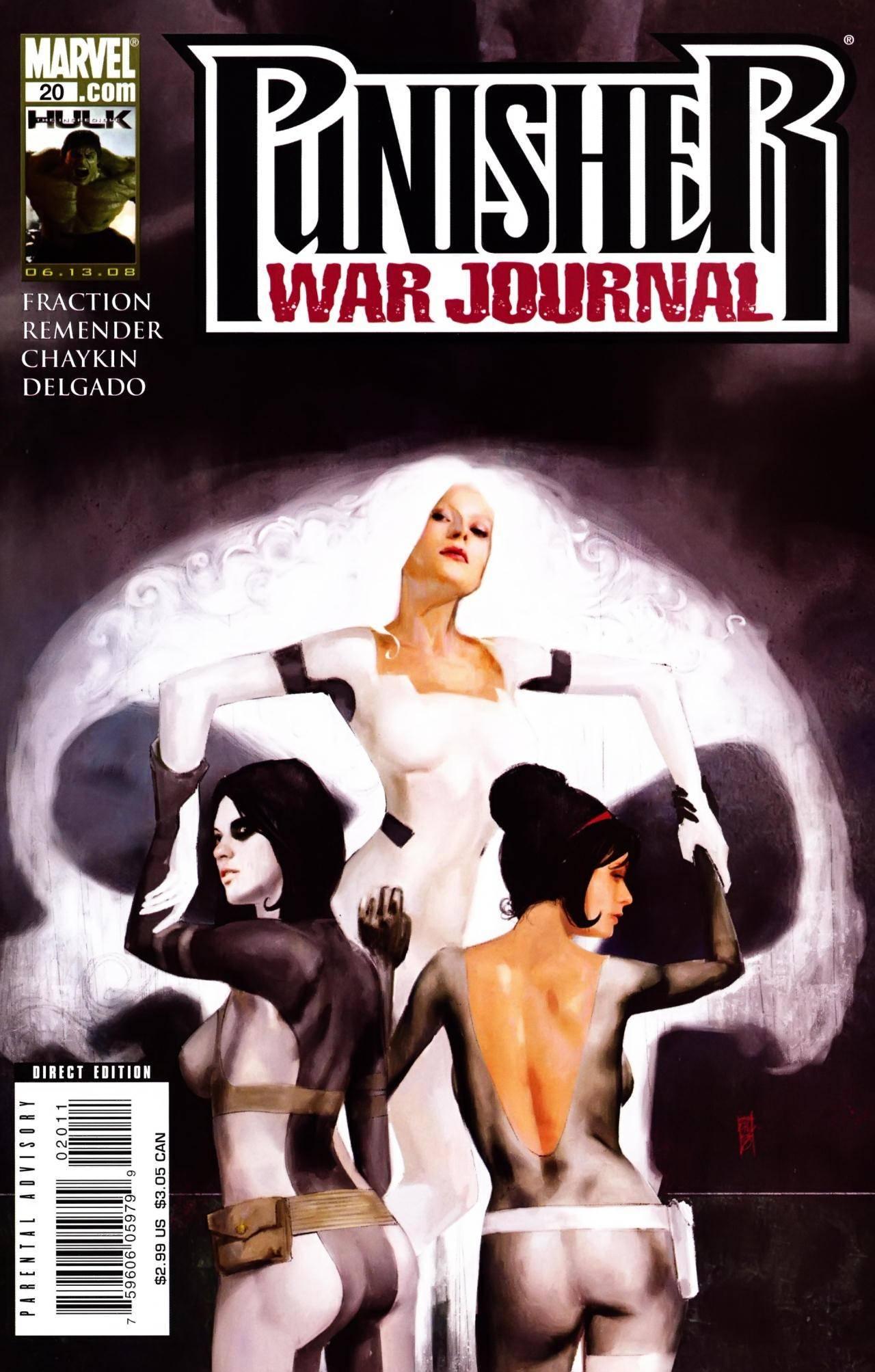 For PostalPops in case you want it all- Punisher War Journal v2 020 2008 cbr