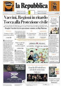 la Repubblica - 4 Marzo 2021