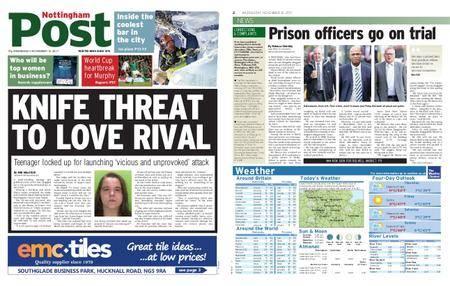 Nottingham Post – November 15, 2017
