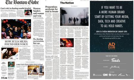 The Boston Globe – January 14, 2020