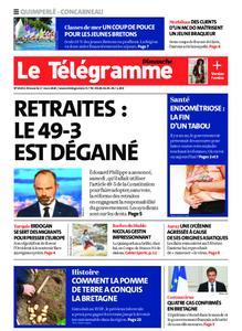 Le Télégramme Concarneau – 01 mars 2020