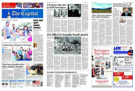The Capital – October 16, 2017