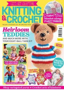 Let's Get Crafting Knitting & Crochet - Issue 118 - January 2020