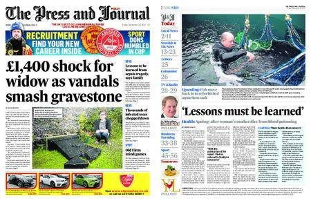 The Press and Journal Moray – September 22, 2017
