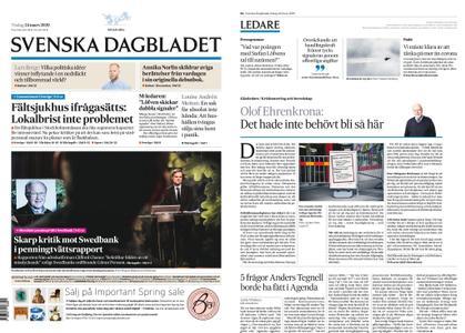 Svenska Dagbladet – 24 mars 2020