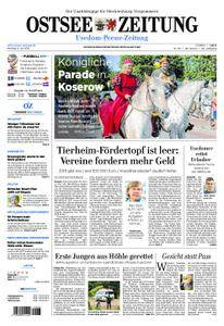 Ostsee Zeitung Wolgast - 09. Juli 2018