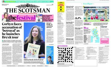 The Scotsman – August 20, 2018