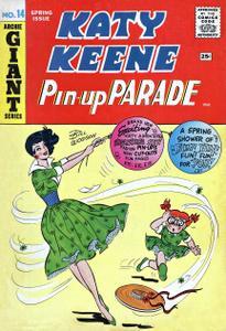Katy Keene Pin-Up Parade 14 (Archie) (Spring 1961)