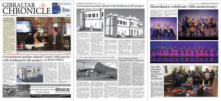 Gibraltar Chronicle – 18 November 2019