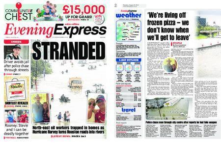 Evening Express – August 29, 2017