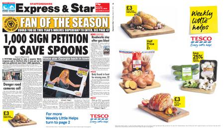 Express and Star Staffordshire Edition – March 21, 2019