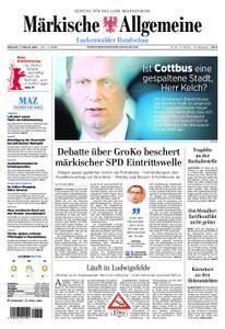 Märkische Allgemeine Luckenwalder Rundschau - 07. Februar 2018