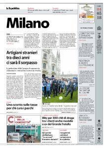 la Repubblica Milano - 4 Maggio 2018