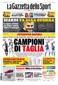La Gazzetta dello Sport – 31 agosto 2019